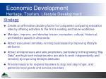 economic development heritage tourism lifestyle development1
