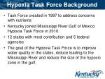 hypoxia task force background