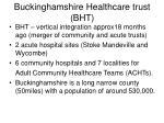 buckinghamshire healthcare trust bht