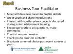 business tour facilitator