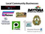 local community businesses