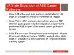 va state expansion of abe career pathways