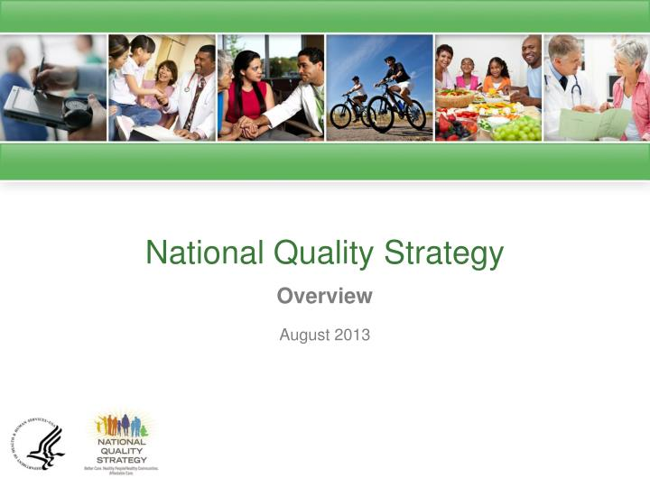 national quality strategy n.