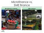microfinance vs sme finance