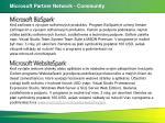 microsoft partner network community