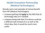 health innovation partnership medical technologies2