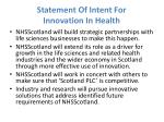 statement of intent for innovation in health3
