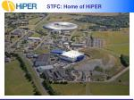 stfc home of hiper