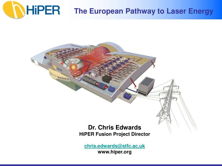 the european pathway to laser energy n.