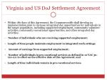 virginia and us doj settlement agreement