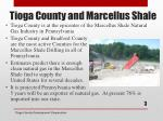 tioga county and marcellus shale