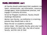 panel discussion con t3