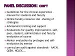 panel discussion con t5
