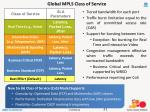 global mpls class of service