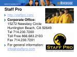 staff pro