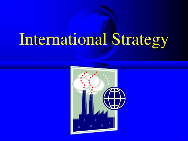 international strategy n.