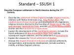 standard ssush 11