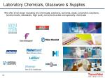 laboratory chemicals glassware supplies