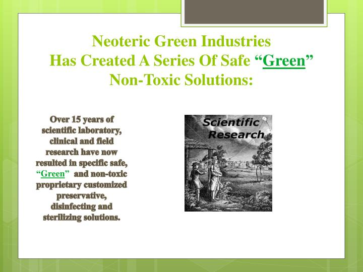 Neoteric Green Industries