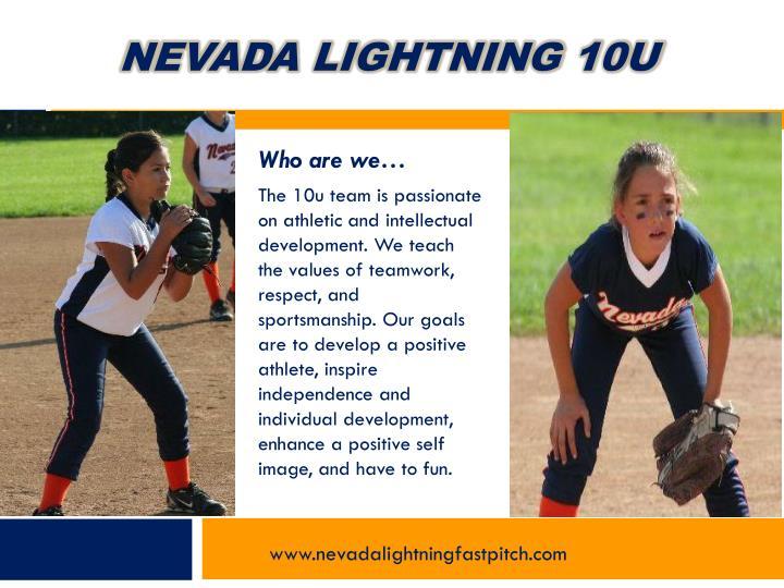Nevada lightning 10u1