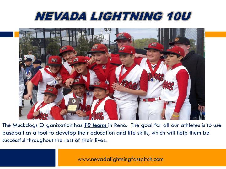 Nevada Lightning 10u