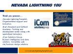 nevada lightning 10u9