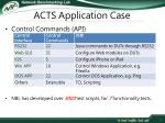 acts application case