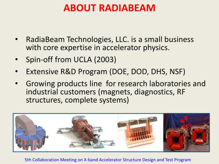 ABOUT RADIABEAM
