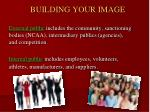 building your image
