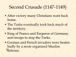 second crusade 1147 1149