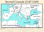 second crusade 1147 11491