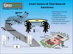 smart sensors total network awareness