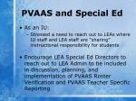 pvaas and special ed