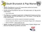 south brunswick pop warner