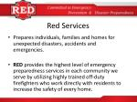 red services