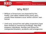 why red