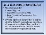 2014 2015 budget guidelines1
