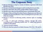 the corporate story