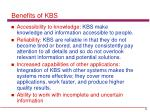 benefits of kbs2