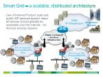 smart grid a scalable distributed architecture
