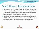 smart home remote access