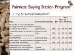 fairness buying station program2