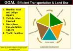 goal efficient transportation land use1