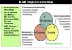 ngo implementation