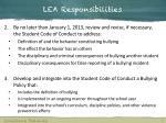 lea responsibilities1