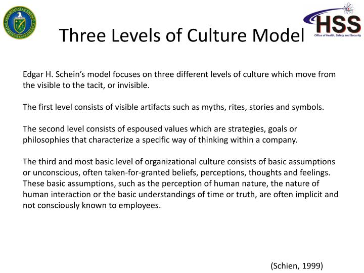 hofstede s vs schein model in organiztional culture In addition the framework authors generated an organizational culture assessment instrument (ocai) which is used to identify the organizational culture profile based on the core values, assumptions, interpretations, and approaches that characterize organizations (cameron & quinn, 1999.