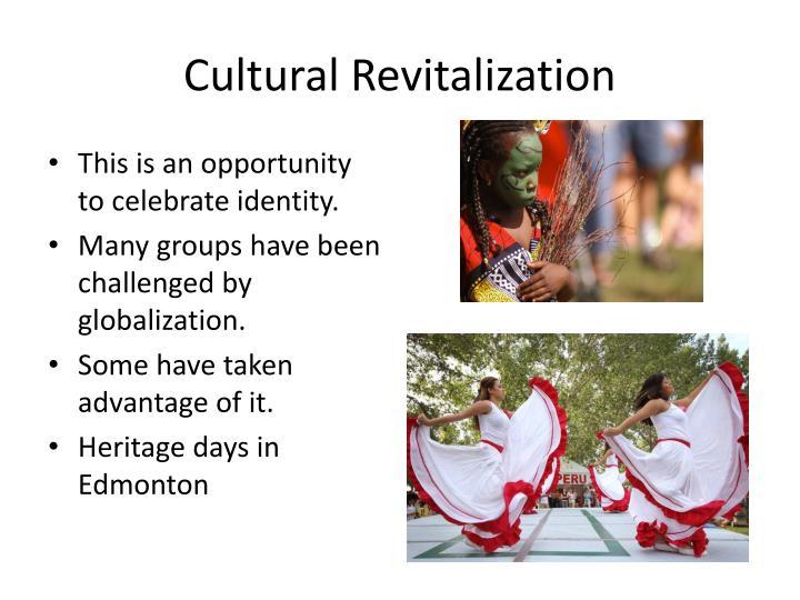 Cultural Revitalization