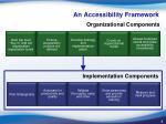 an accessibility framework