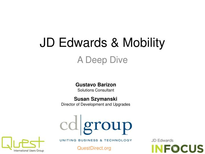 jd edwards mobility n.