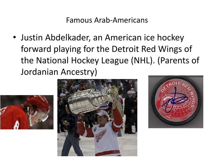 Famous Arab-Americans